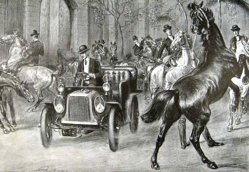 car-horse